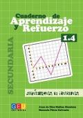 Cuaderno de aprendizaje y refuerzo 1.4. Gráficas y tablas. Secundaria.