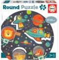 Round Puzzle - El Espacio (28 piezas)