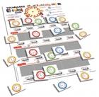 Vocabulario visual - El reloj (Formato rígido)