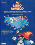 Mi libro mágico (azul marino). Lectura y escritura en letra script y cursiva