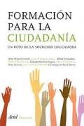 Formación para la ciudadanía. Un reto de la sociedad educadora.