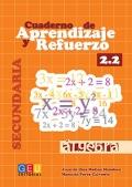 Cuaderno de aprendizaje y refuerzo 2.2. Álgebra. Secundaria.