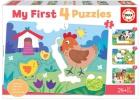 My First 4 Puzzles. Mamás y bebés