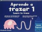 Aprende a trazar 1 . Learn to trace. Método de motricidad fina. Preparación para la escritura.