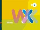 Cuaderno de letras 7. LL, Ñ, X, K,W