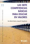 Las siete competencias básicas para educar en valores.