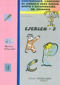 EJERLEN - 3. Mediterráneo. Ejercicios de lenguaje para repaso, apoyo y recuperación. 3º Educación Primaria.