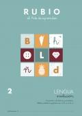 Lengua Evolución 2. Iniciación a la lectura y escritura. Sílabas, palabras y frases con: d,h,n,ñ,b,v.