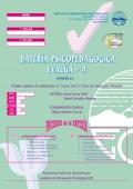 Cuadernillo y corrección de bateria psicopedagógica EVALÚA-4