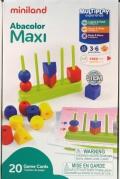 Ábaco maxi (15 piezas y 20 fichas)