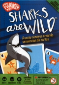 Sharks are wild. Asocia números creando secuencias de cartas. Juego Educativo