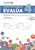 Cuadernillo y corrección de batería psicopedagógica EVALÚA-4