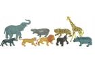 Animales de la selva 9 figuras