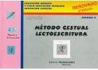 Método gestual lectoescritura. Fichas - 3. Educación infantil, 1º ciclo educación primaria, educación especial.