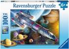 Puzzle Misión en el espacio. 100 piezas