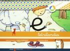 Letrilandia. Cuaderno de escritura 1. Pauta Montessori.
