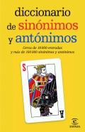 Diccionario de sinónimos y antónimos. Formato bolsillo