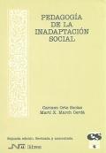 Pedagogía de la inadaptación social.