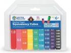 Torre de cubos de equivalencia de fracciones
