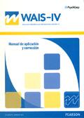 Manual de aplicación y corrección de WAIS-IV, Escala Wechsler de inteligencia para adultos