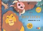 El rey león. Números del 1 al 10 . Colección para trabajar conceptos básicos