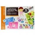 Activitats escolars P3. Les lletres, els números, els colors, les formes...10 activitats diferents