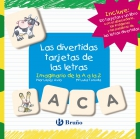 Las divertidas tarjetas de las letras Imaginario de la A a la Z