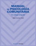Manual de psicología comunitaria. Un enfoque integrado.