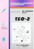TEO-2 ( d- ll- b- v- ñ- cq- f ). Habilidades de segmentación en lectoescritura.