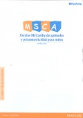 Cuadernillo de anotaciones para MSCA (25 unidades)