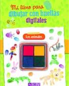 Mi libro para dibujar con huellas digitales. Los animales