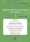Ejercicios para la recuperación de la dislexia 4. A partir de 12 años