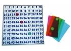 Tablero translúcido con juego de 100