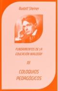 Coloquios Pedagógicos. Fundamentos de la educación Waldorf